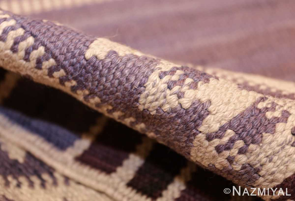 geometric vintage scandinavian swedish kilim by marta maas 49268 pile Nazmiyal