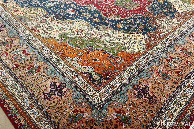 large vintage tabriz persian rug 51081 design Nazmiyal