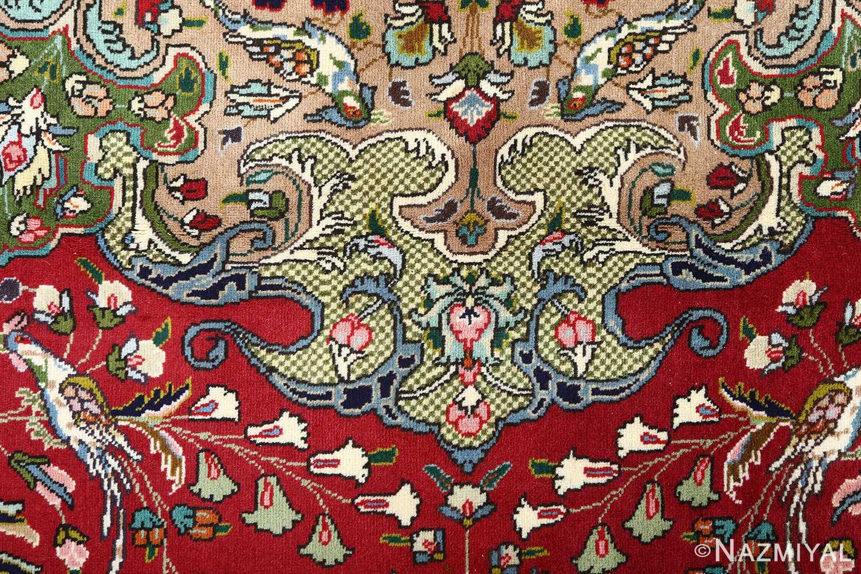 large vintage tabriz persian rug 51081 pattern Nazmiyal