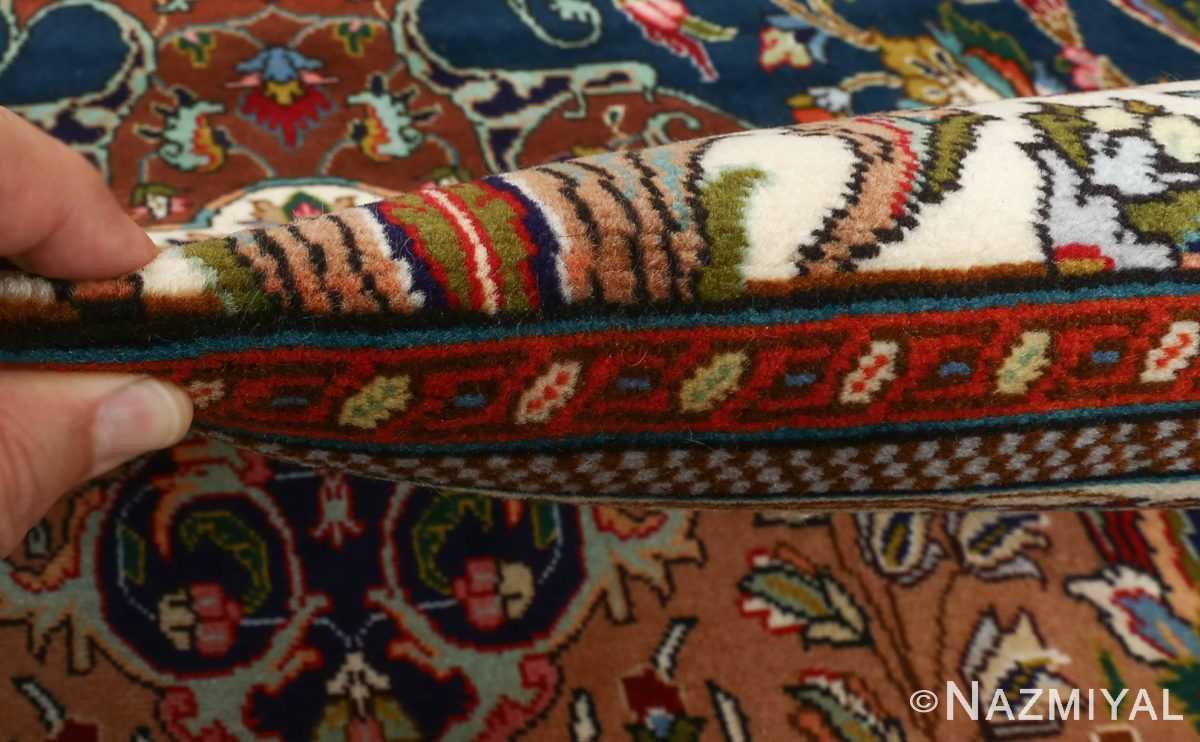 large vintage tabriz persian rug 51081 pile Nazmiyal