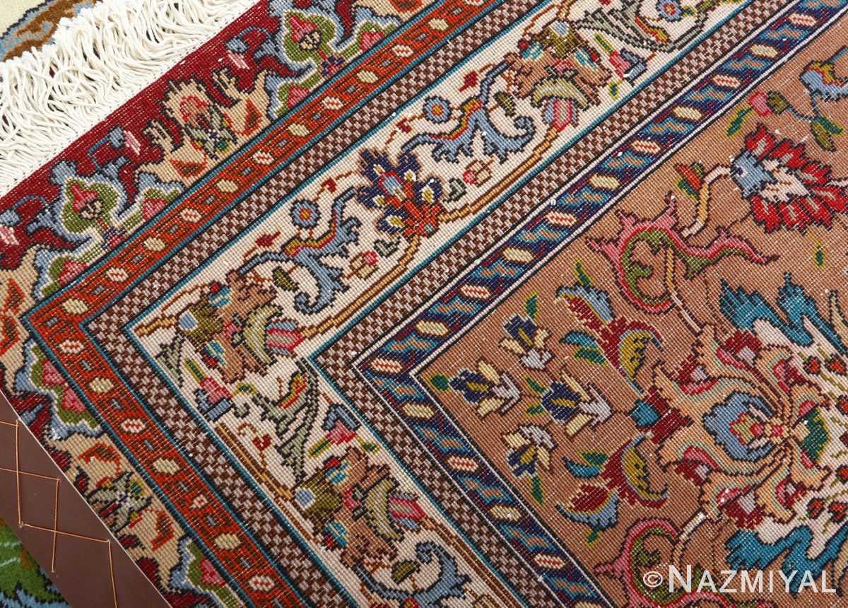 large vintage tabriz persian rug 51081 weave Nazmiyal