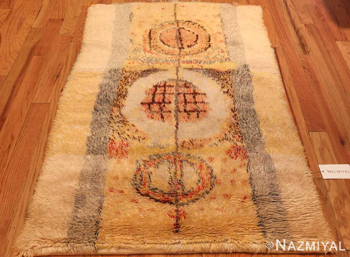 leen kaisa designed vintage rya scandinavian rug 49261 full Nazmiyal