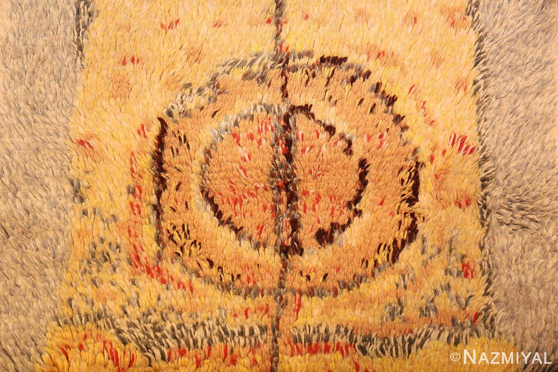 leen kaisa designed vintage rya scandinavian rug 49261 middle Nazmiyal