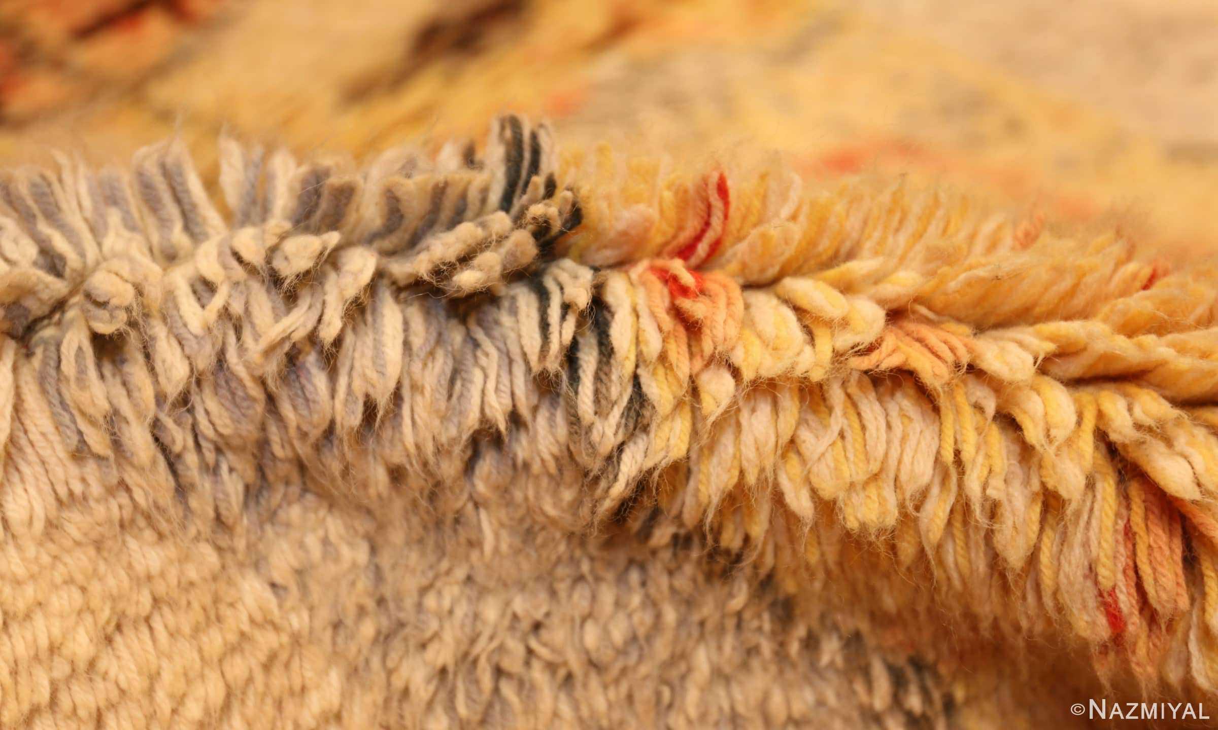 leen kaisa designed vintage rya scandinavian rug 49261 pile Nazmiyal
