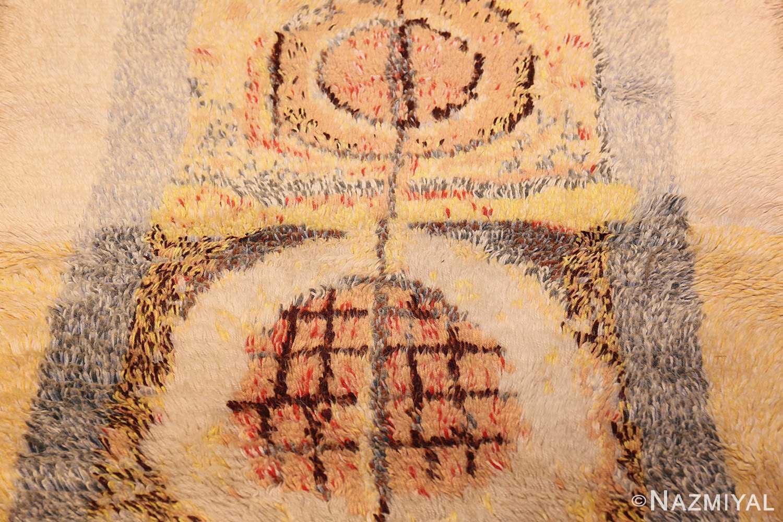 leen kaisa designed vintage rya scandinavian rug 49261 top Nazmiyal