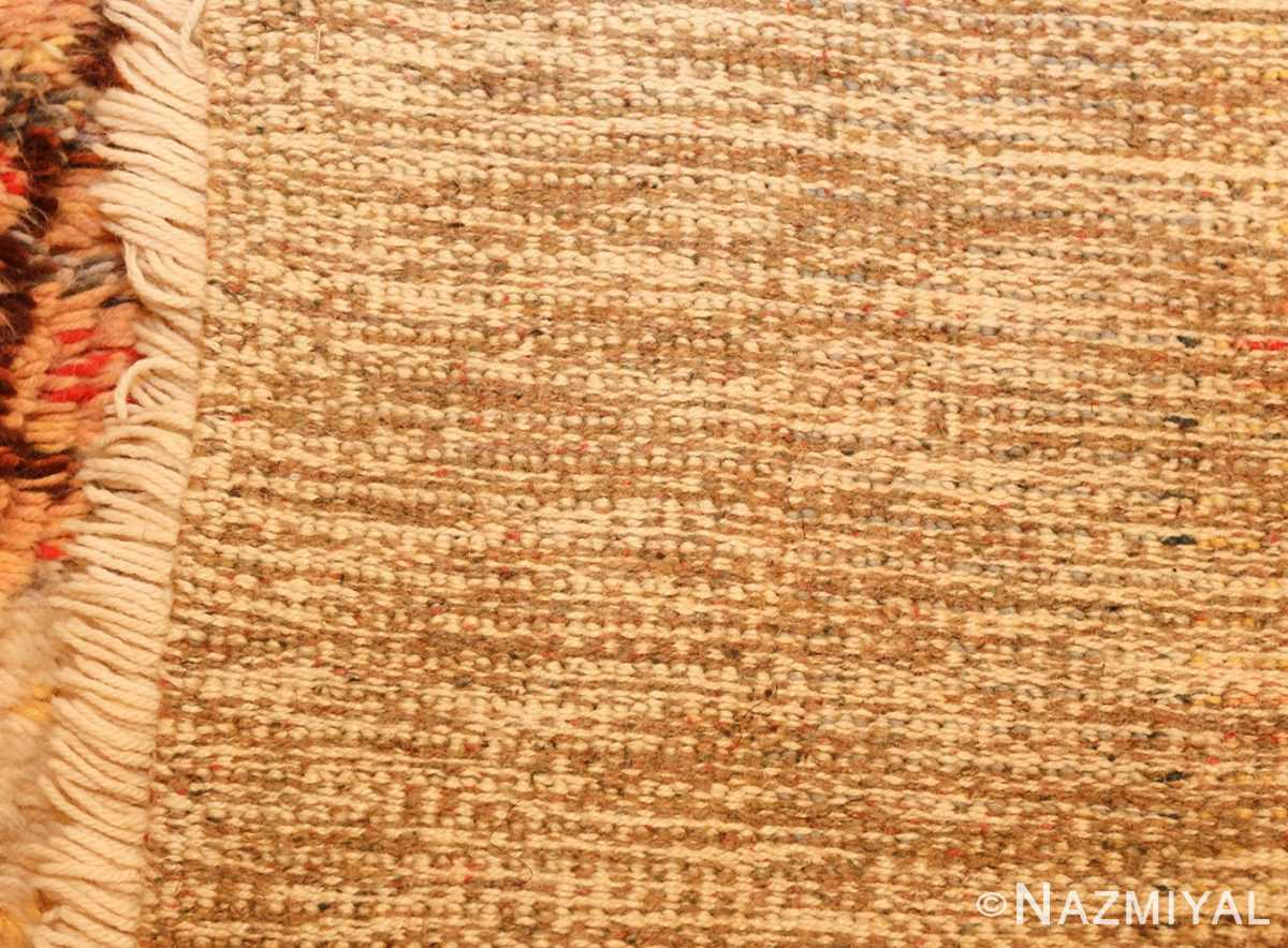 leen kaisa designed vintage rya scandinavian rug 49261 weave Nazmiyal