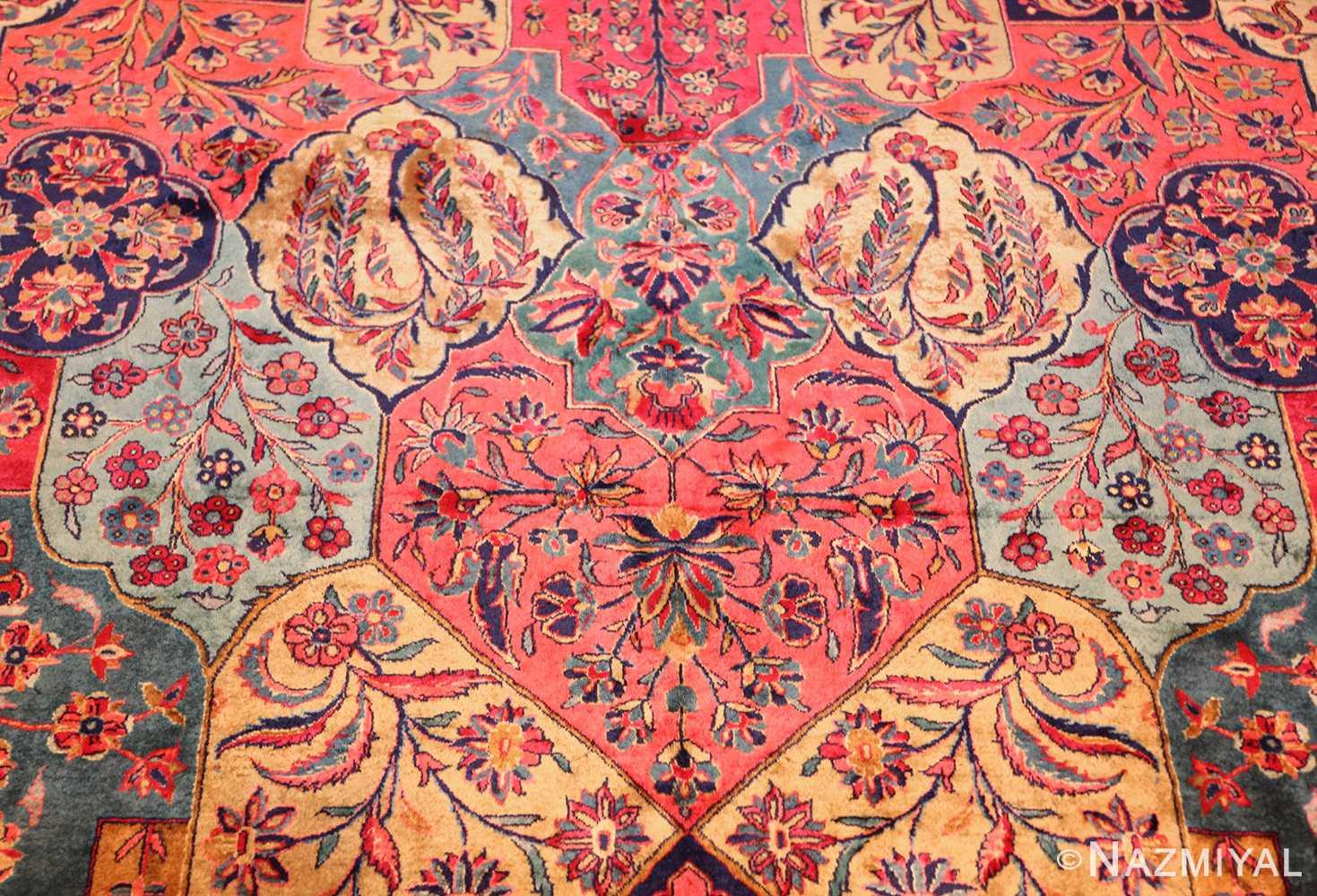 oversized antique kashan persian rug 49231 design Nazmiyal