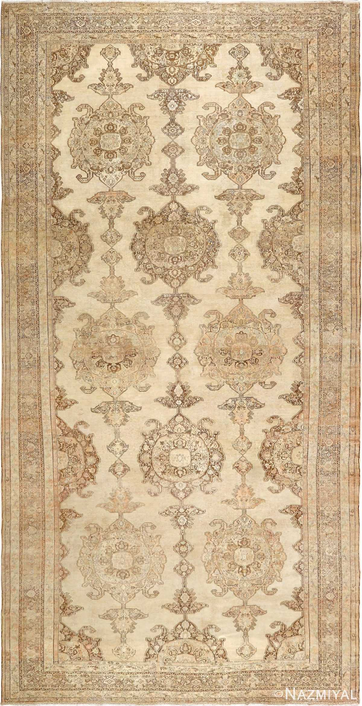 oversized antique malayer persian rug 51100 Nazmiyal