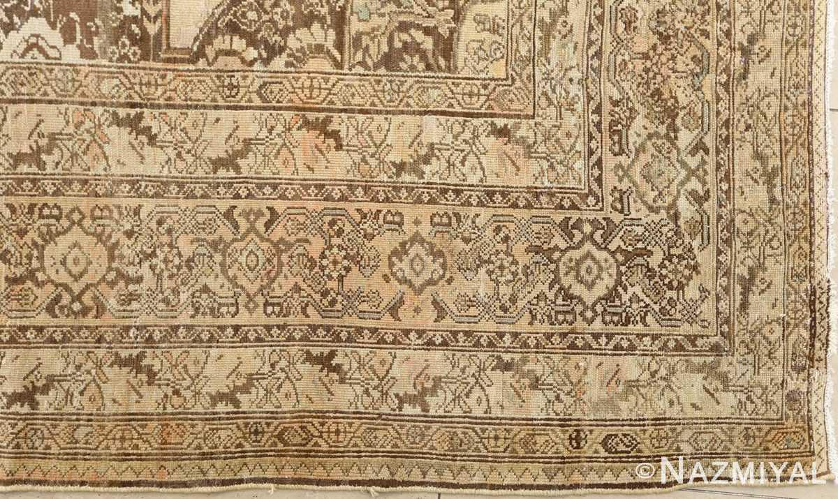 oversized antique malayer persian rug 51100 corner Nazmiyal