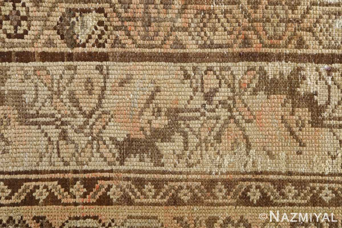 oversized antique malayer persian rug 51100 green Nazmiyal