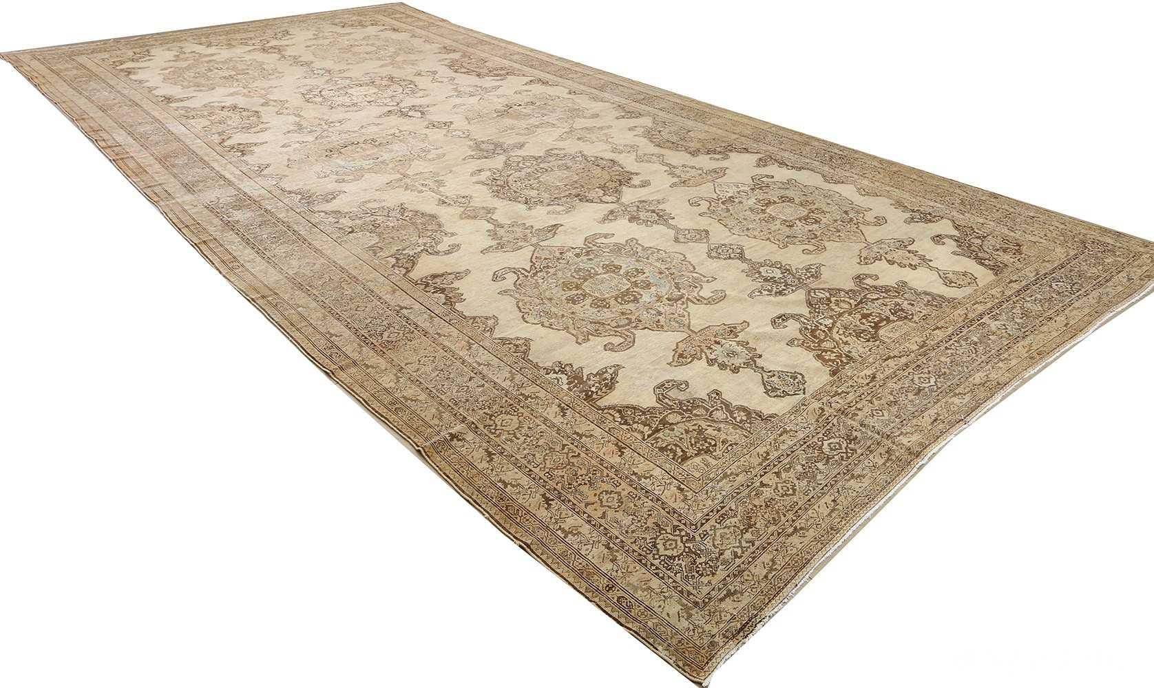 oversized antique malayer persian rug 51100 side Nazmiyal
