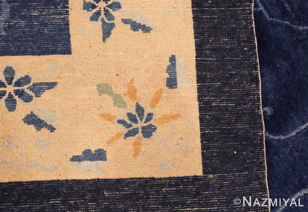 room size antique blue chinese rug 49272 weave Nazmiyal