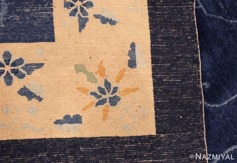 room size antique blue chinese rug 49272 weave Nazmiyal