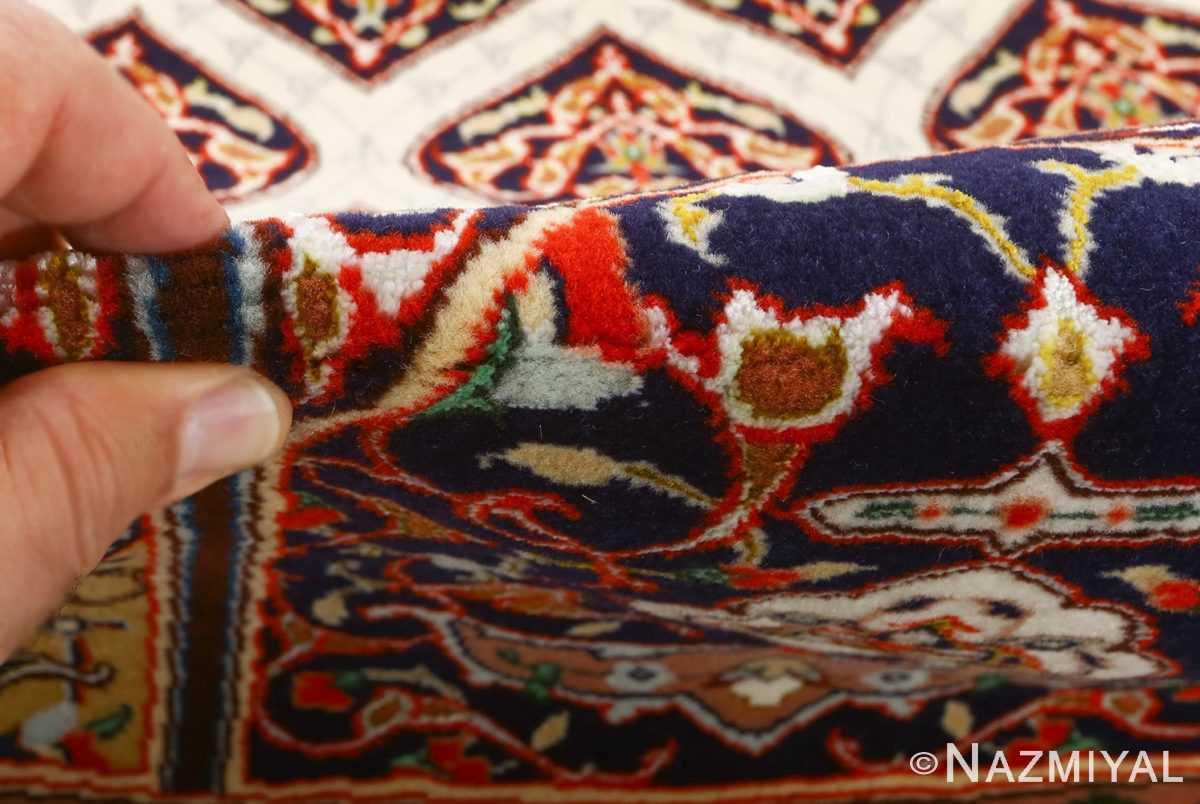 square gonbad design vintage tabriz persian rug 51075 pile Nazmiyal