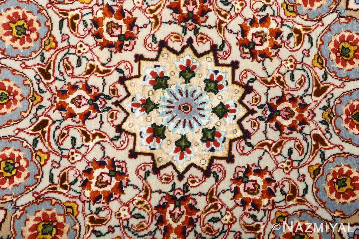square shahsavarpour design vintage tabriz persian rug 51076 center Nazmiyal