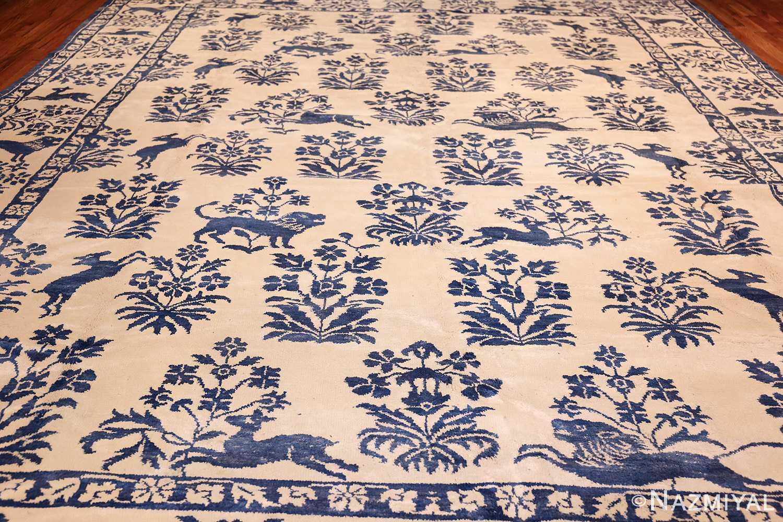 vintage animal motif indian rug 49257 full Nazmiyal