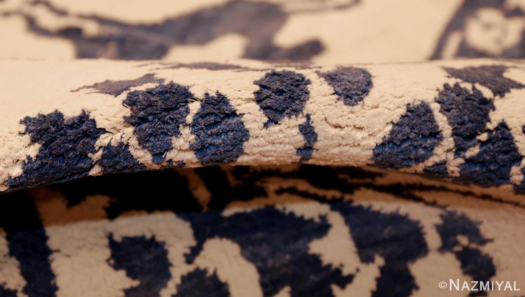 vintage animal motif indian rug 49257 pile Nazmiyal