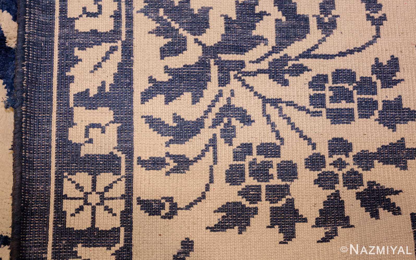 vintage animal motif indian rug 49257 weave Nazmiyal