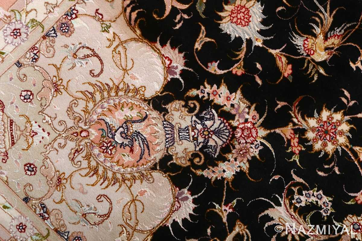 vintage animal motif tabriz persian rug 51102 design Nazmiyal