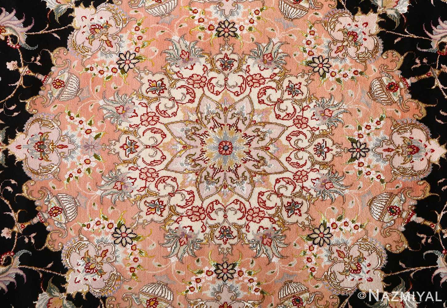 vintage animal motif tabriz persian rug 51102 medallion Nazmiyal