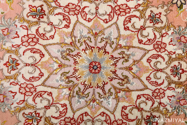 vintage animal motif tabriz persian rug 51102 middle Nazmiyal