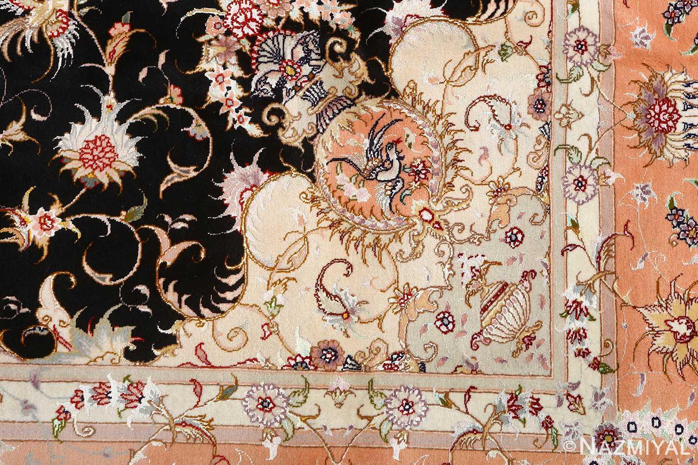 vintage animal motif tabriz persian rug 51102 pattern Nazmiyal