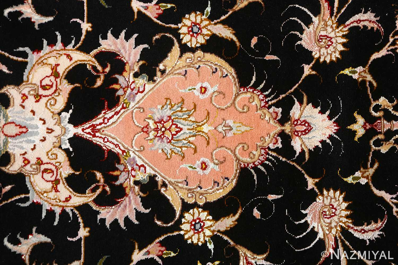 vintage animal motif tabriz persian rug 51102 top Nazmiyal