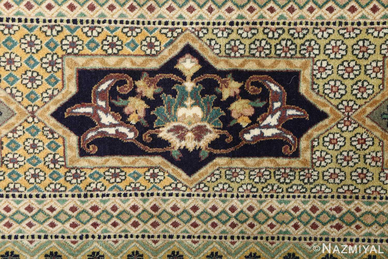 vintage geometric tabriz persian rug 51113 design Nazmiyal