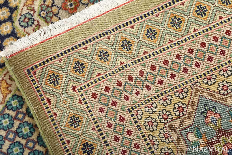 vintage geometric tabriz persian rug 51113 weave Nazmiyal