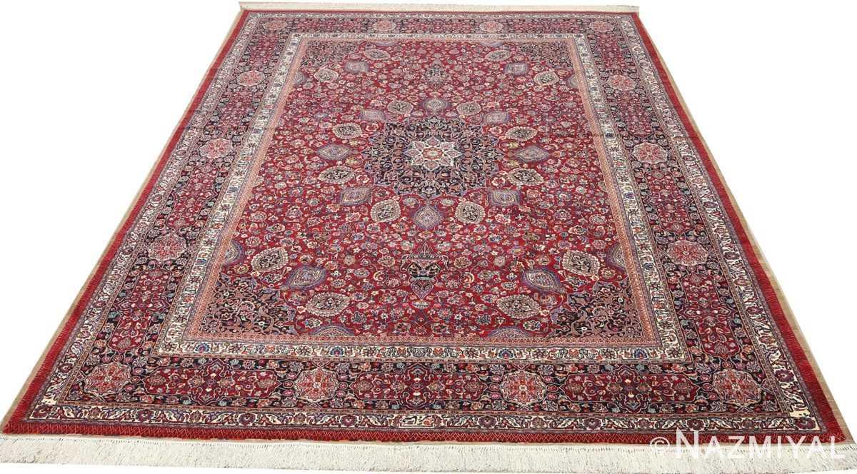 vintage gonbad design khorassan persian rug 51053 full Nazmiyal