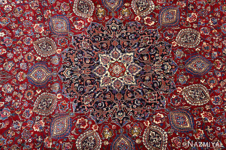 vintage gonbad design khorassan persian rug 51053 medallion Nazmiyal