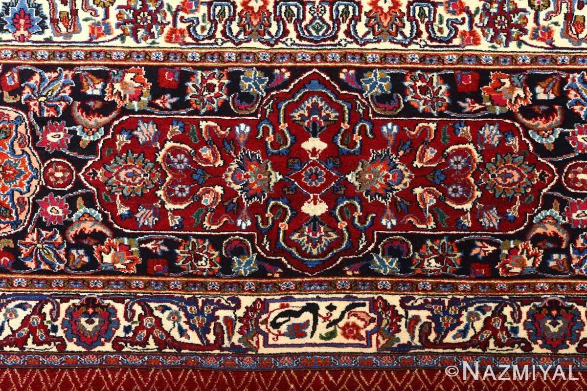 vintage gonbad design khorassan persian rug 51053 pattern Nazmiyal