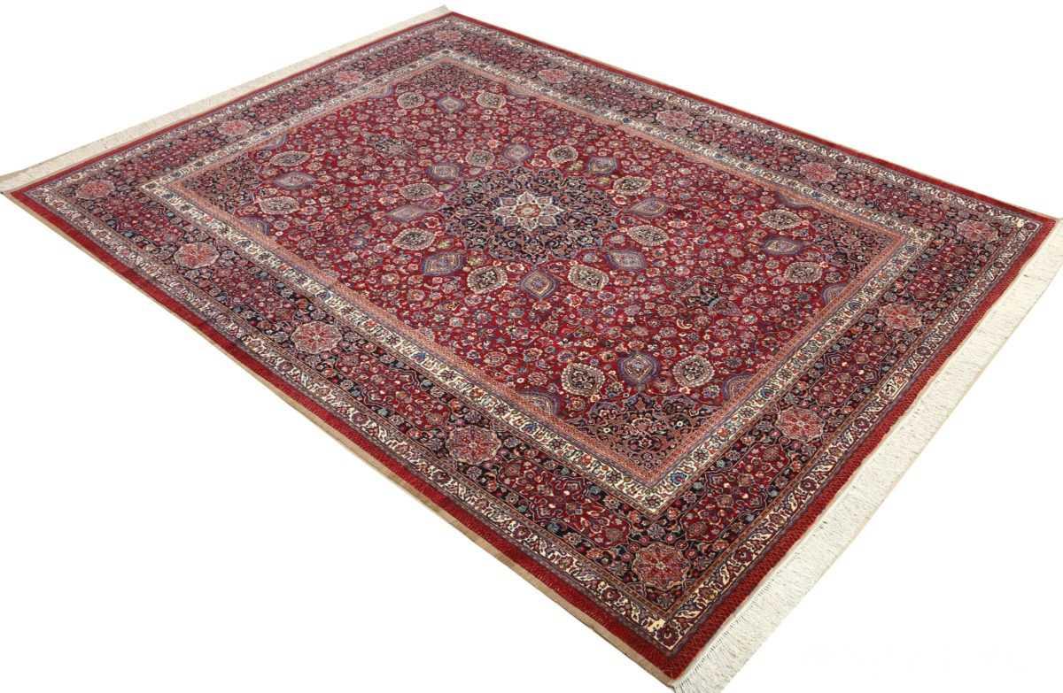 vintage gonbad design khorassan persian rug 51053 side Nazmiyal
