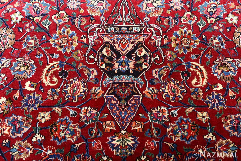 vintage gonbad design khorassan persian rug 51053 vase Nazmiyal