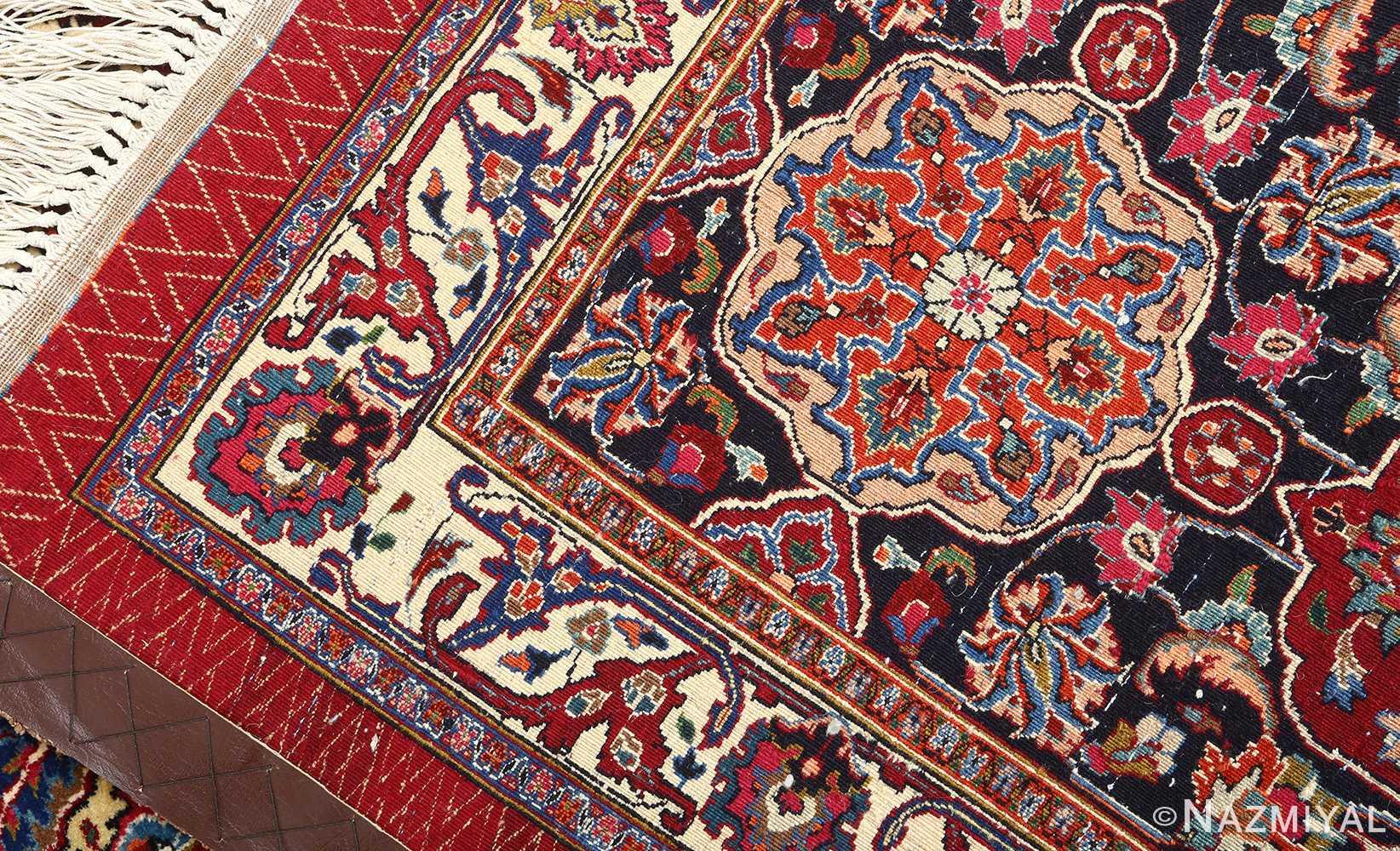 vintage gonbad design khorassan persian rug 51053 weave Nazmiyal
