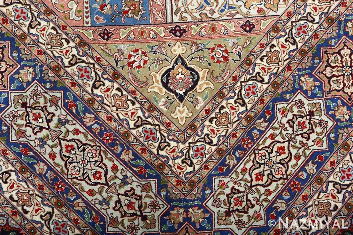 vintage gonbad design tabriz persian rug 51083 design Nazmiyal