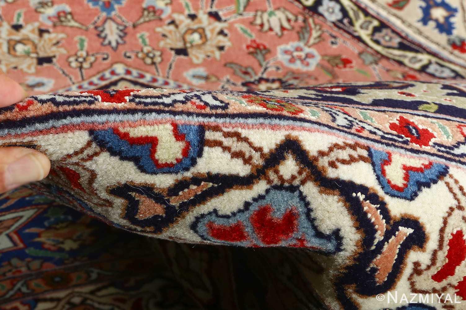 vintage gonbad design tabriz persian rug 51083 pile Nazmiyal