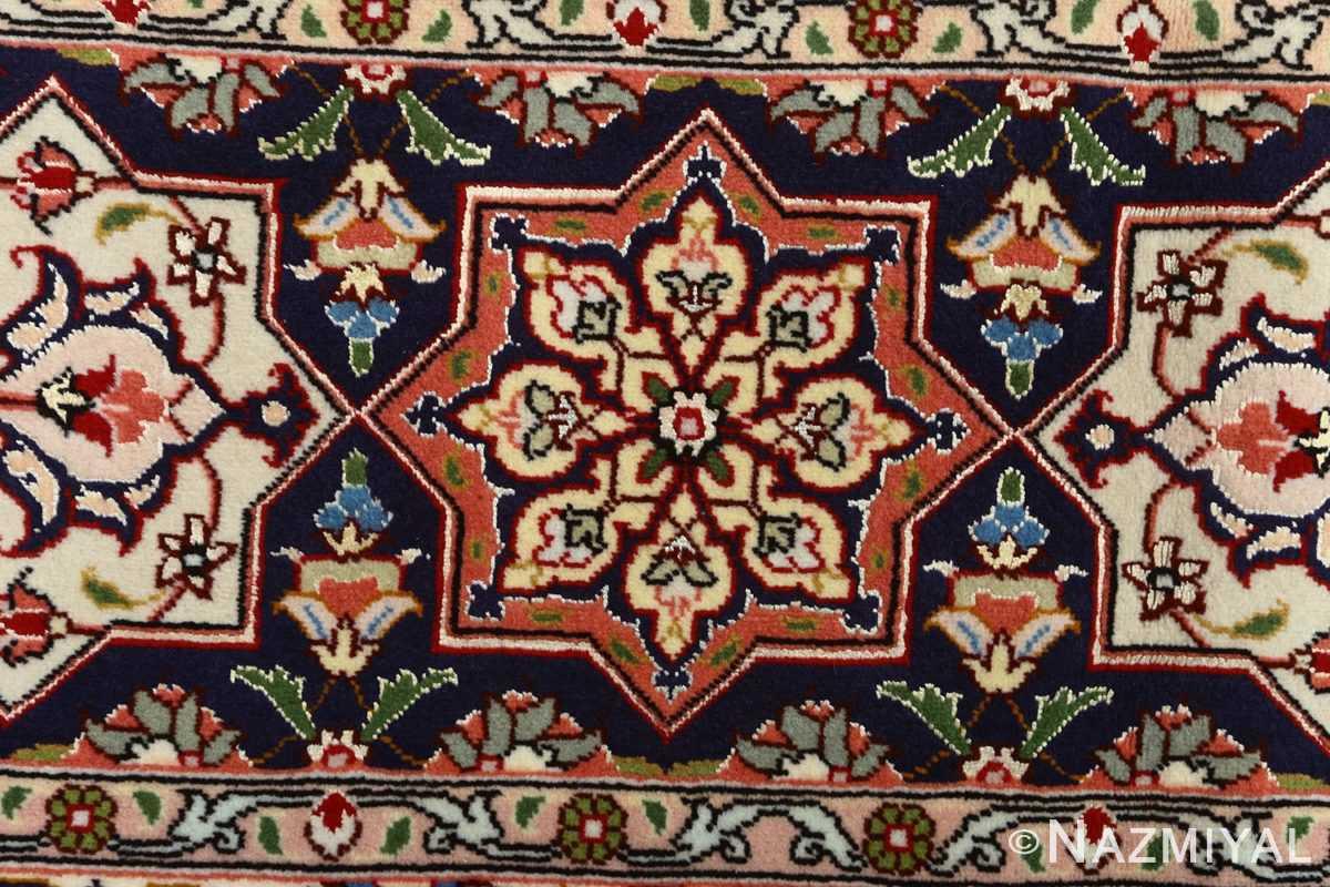 vintage gonbad design tabriz persian rug 51085 border Nazmiyal