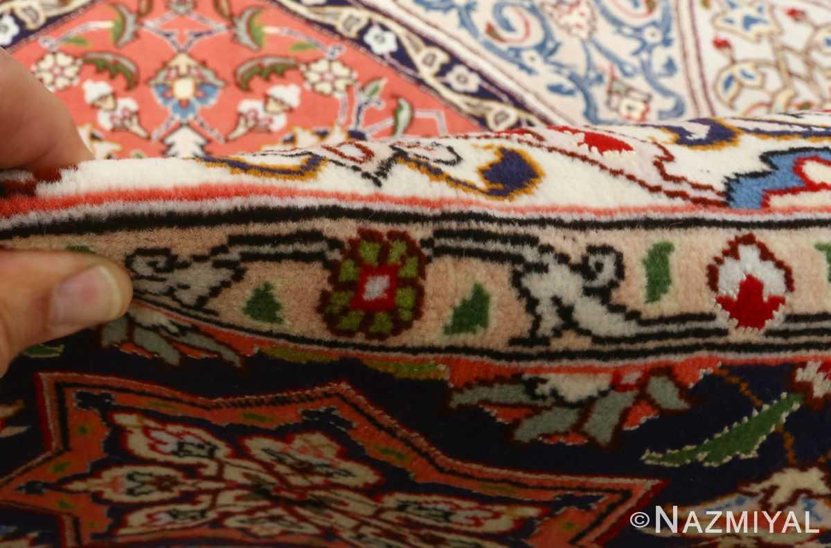 vintage gonbad design tabriz persian rug 51085 pile Nazmiyal