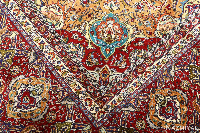 vintage gonbad design tabriz persian rug 51088 design Nazmiyal