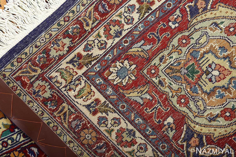 vintage gonbad design tabriz persian rug 51088 weave Nazmiyal