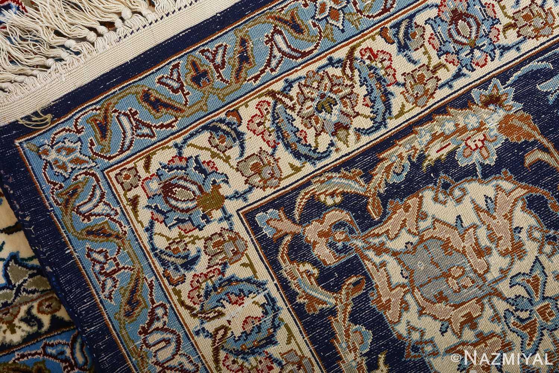 vintage red background isfahan persian rug 51090 weave Nazmiyal