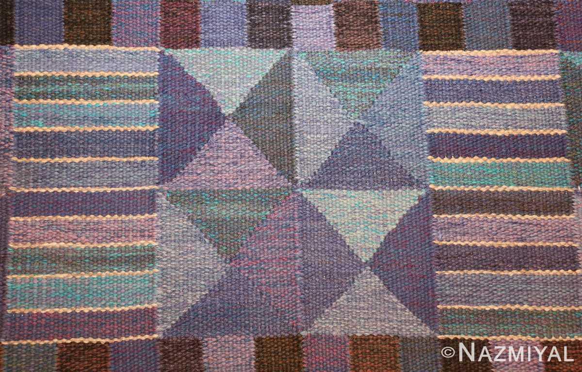vintage scandinavian swedish kilim by marta maas 49269 colors Nazmiyal