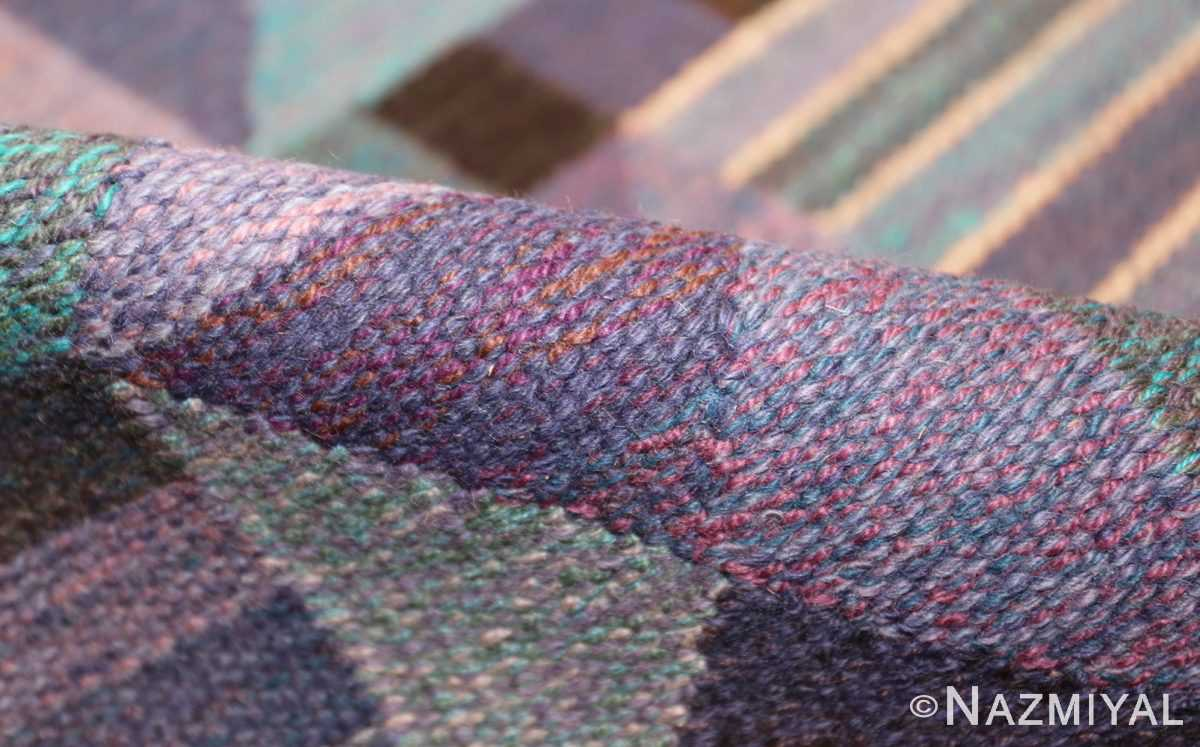 vintage scandinavian swedish kilim by marta maas 49269 pile Nazmiyal