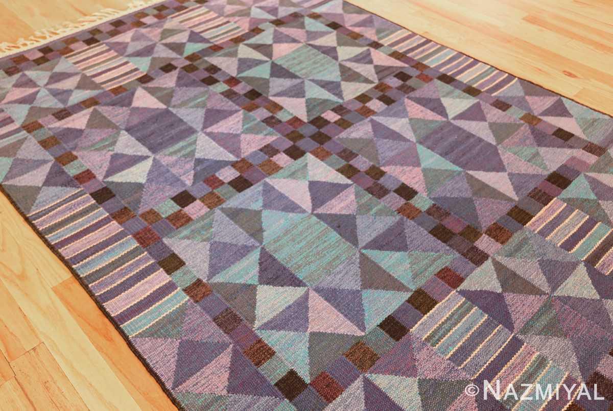vintage scandinavian swedish kilim by marta maas 49269 side Nazmiyal