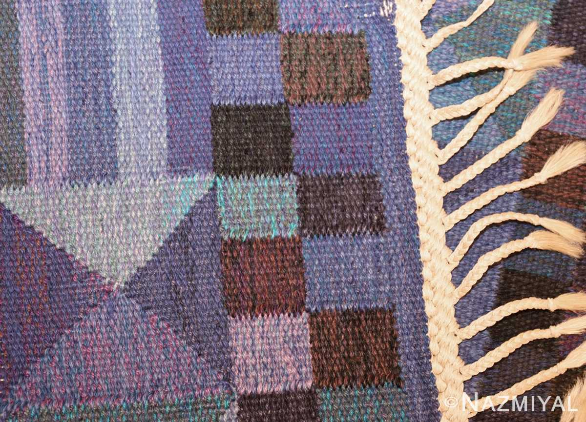 vintage scandinavian swedish kilim by marta maas 49269 weave Nazmiyal
