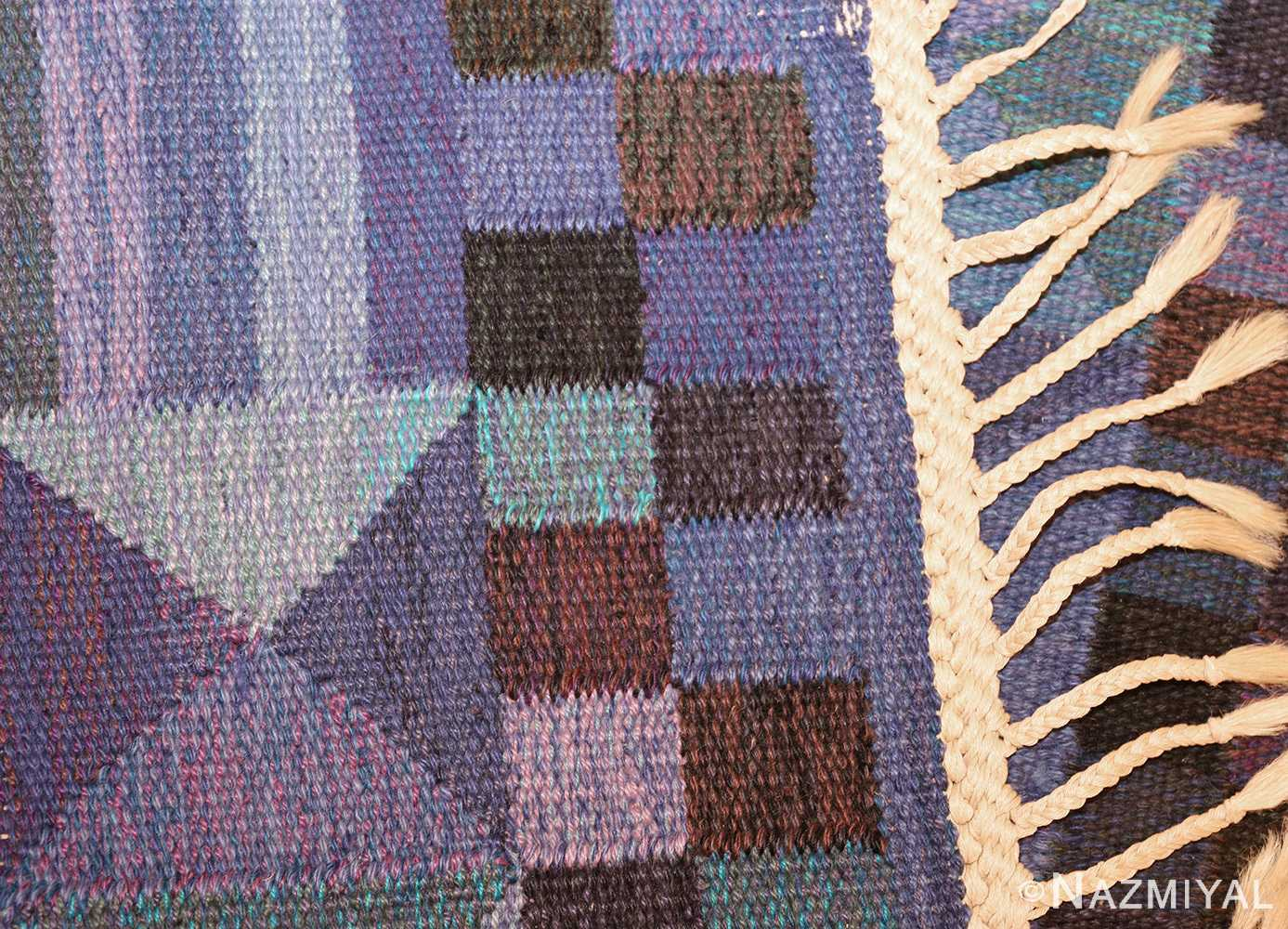 vintage scandinavian swedish kilim by marta maas 49269 weave Nazmiyal