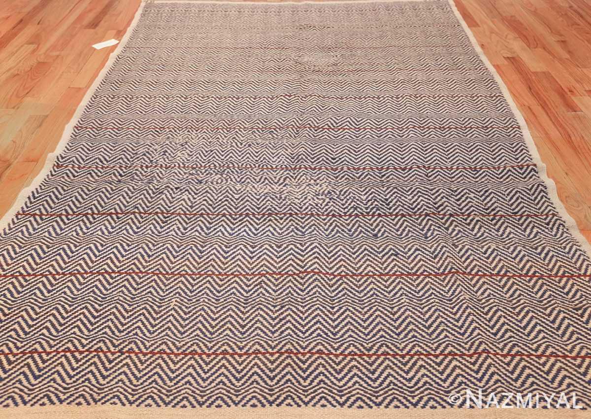 vintage scandivanian swedish kilim rug by marta maas fjetterstrom 49128 full Nazmiyal