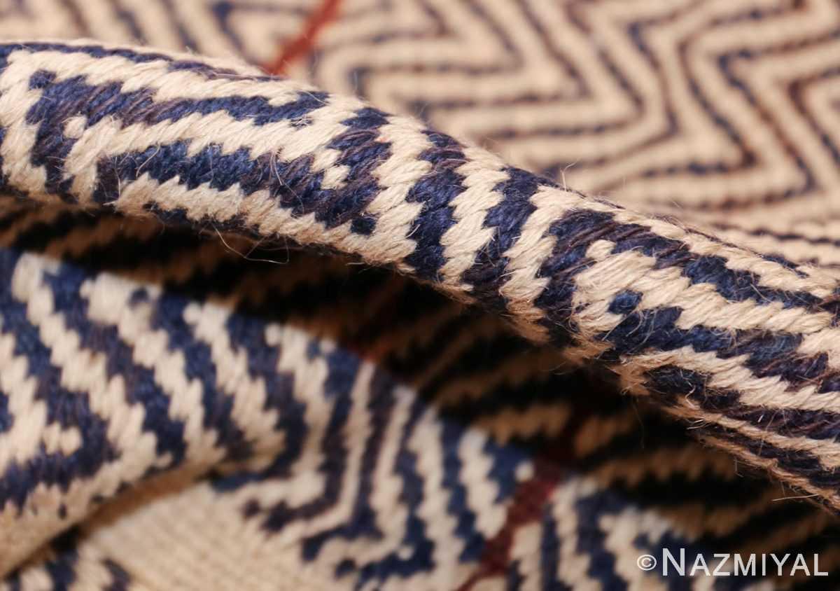 vintage scandivanian Swedish kilim rug by marta maas fjetterstrom 49128 pile Nazmiyal