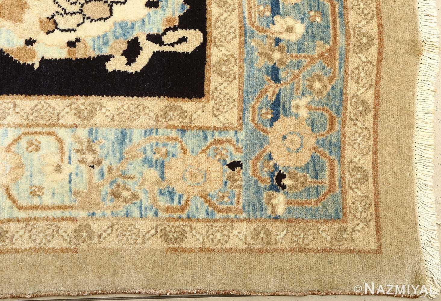 vintage serab persian rug 51092 corner Nazmiyal
